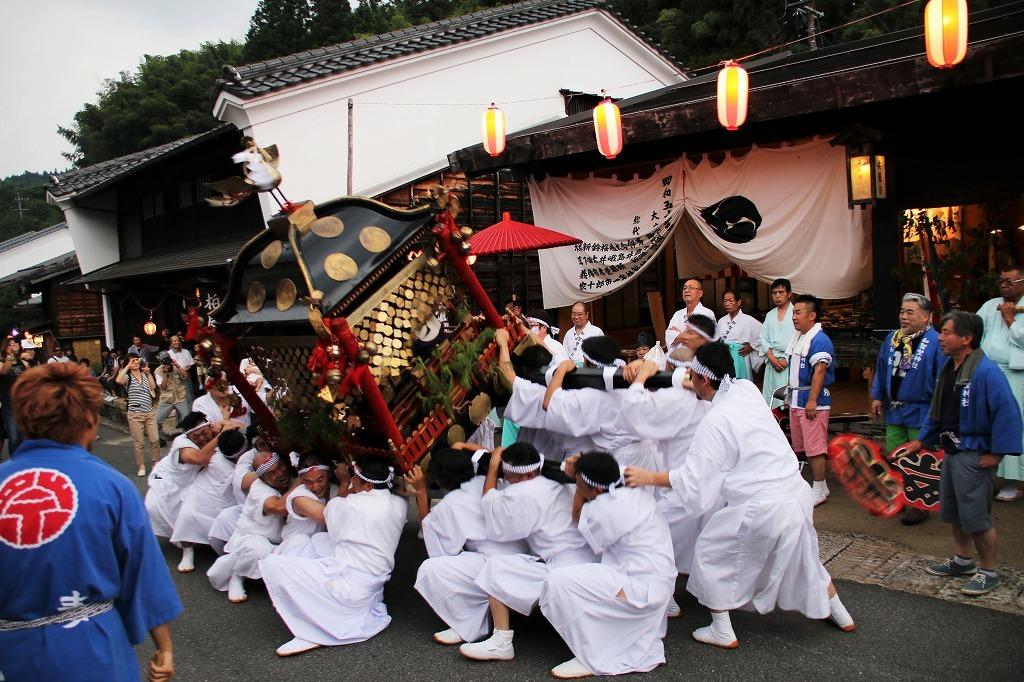妻籠宿 7月の見どころ 和智埜神社祭礼